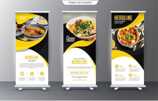 Roll up modello standee display a scopo di presentazione e pubblicità