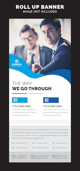 Rollup xbanner template