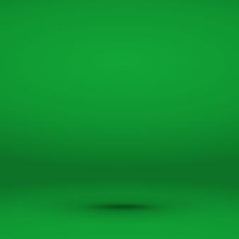Sfondo della stanza con gradiente riflettori