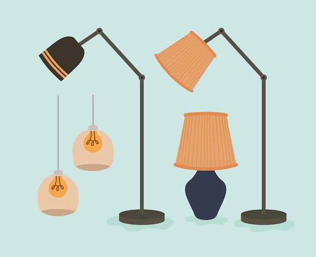 Disegni di lampade da camera