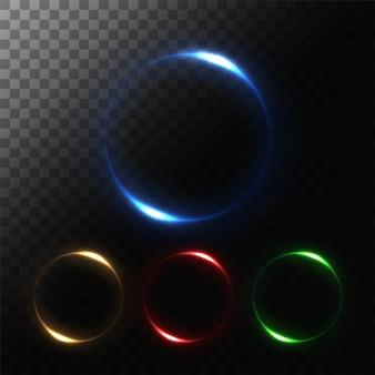 Set di luci rotonde