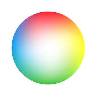 Sfumatura di colore morbido rotondo. fondo astratto moderno. sfondo di illustrazione vettoriale
