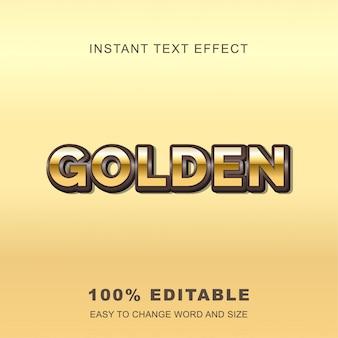 Effetto testo oro reale