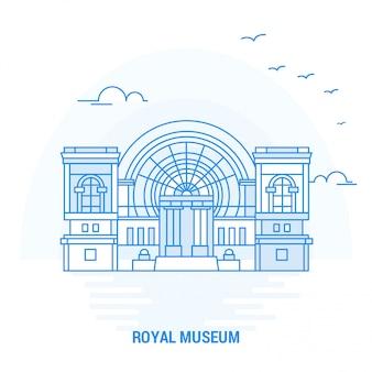 Royal museum blue landmark