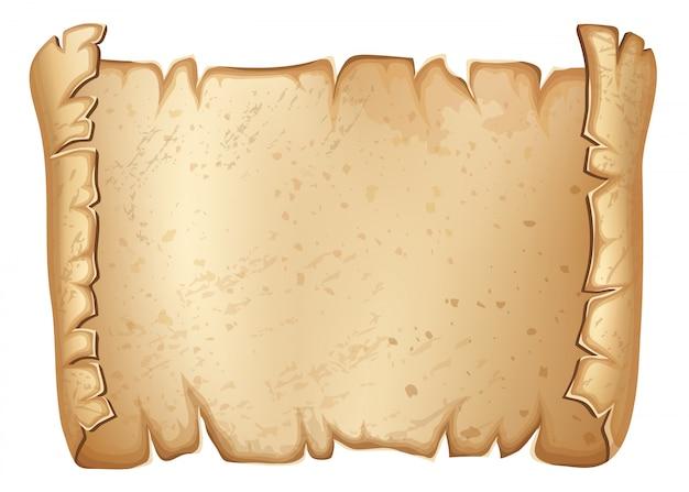 Reale vecchia pergamena.