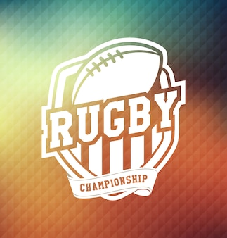 Rugby championship logo sport