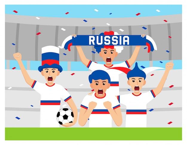 Sostenitori della russia nella progettazione piana