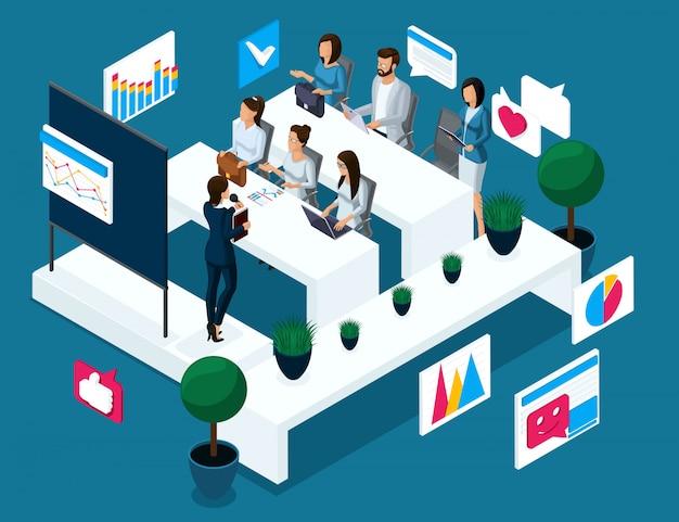 S concetto di coaching, formazione, scambio finanziario, crescita e declino delle quotazioni, sviluppo aziendale, formazione aziendale