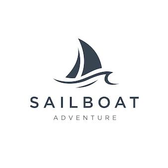 Disegno del logo della barca a vela