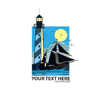 Vela e luce della torre