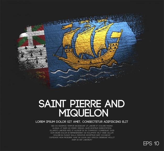 Bandiera di saint pierre e miquelon