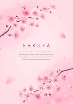 Cartolina d'auguri di sakura