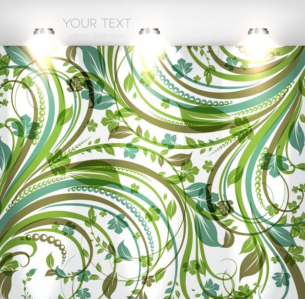Vendita visualizzazione marciapiede vetrina floreale