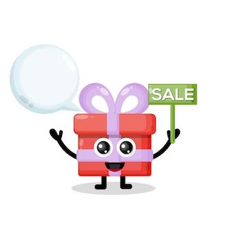 Regalo di vendita simpatico personaggio