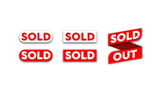 In vendita sfondo rosso modello.