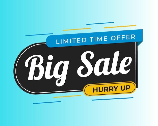 Vendita offerta speciale e cartellini dei prezzi premium