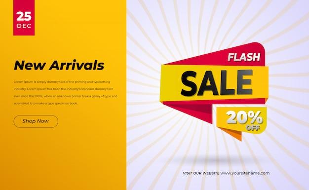 Offerta speciale di vendita e cartellini dei prezzi