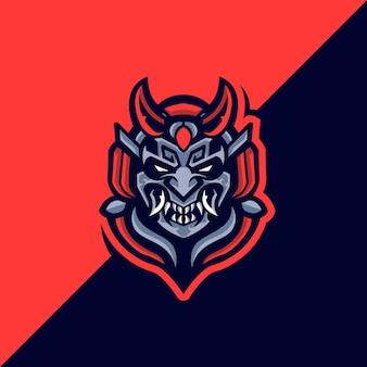 Logo samurai devil