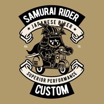 Samurai rider cartoon