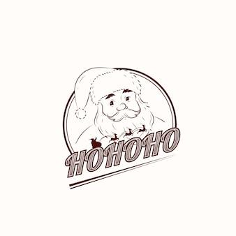 Logo di babbo natale