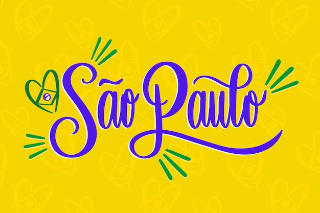 Lettering sao paulo