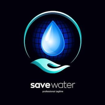 Risparmiare acqua logo