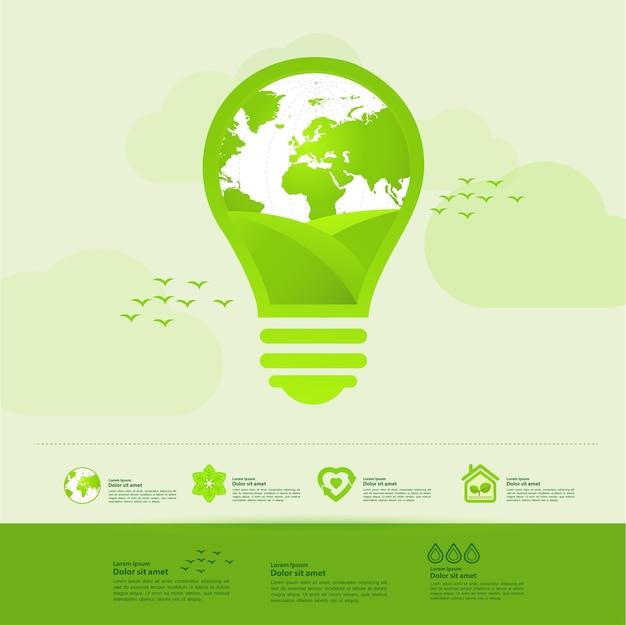 Salvare il mondo insieme ecologia verde