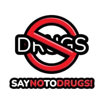 Dì no alle droghe