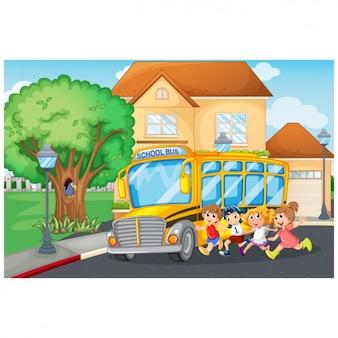 Il bus della scuola