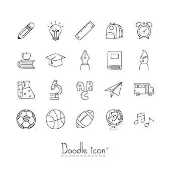 Icone scolastiche.