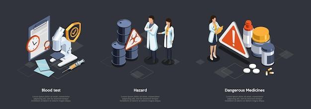 Ricerche scientifiche e concetto di assistenza sanitaria.