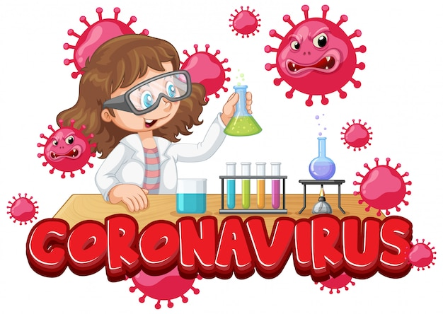 Esperimento di scienziati coronavirus in laboratorio