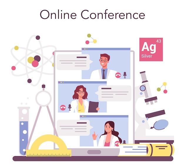 Servizio o piattaforma online per scienziati
