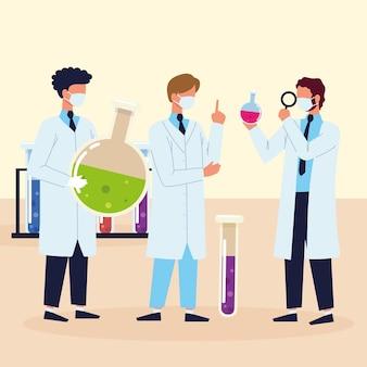 Laboratorio di scienze degli scienziati
