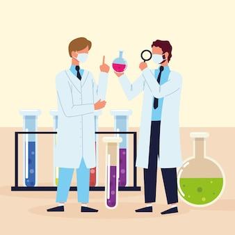 Processo di ricerca scientifica degli scienziati