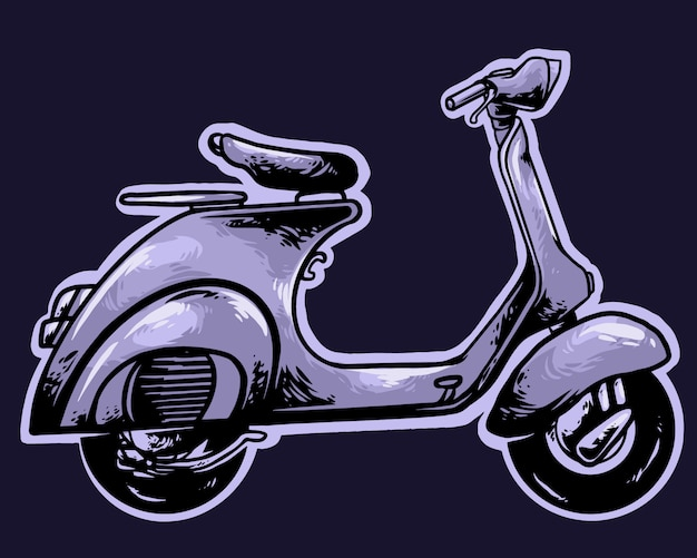 Scooter classico vintage