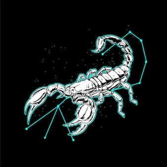 Illustrazione dello scorpione
