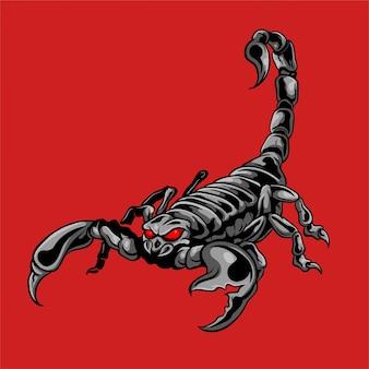 Illustrazione vettoriale di scorpione