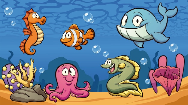 Creature marine