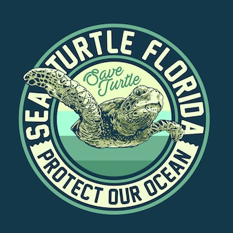 Sea turtle campaign design concept