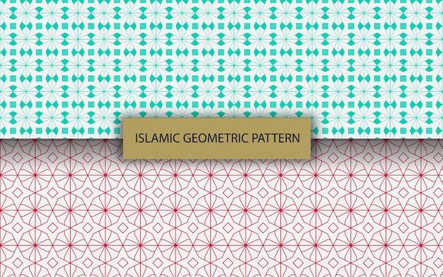 Modello geometrico islamico arabo senza soluzione di continuità