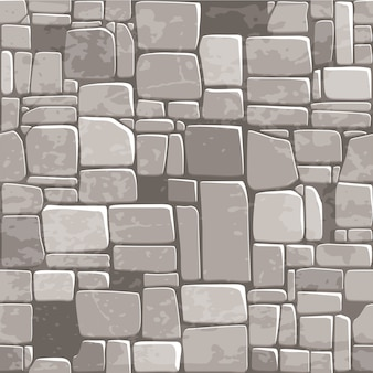 Parete di pietra grigia di struttura senza cuciture del fondo