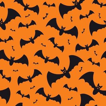 Sfondo senza soluzione di continuità con i pipistrelli