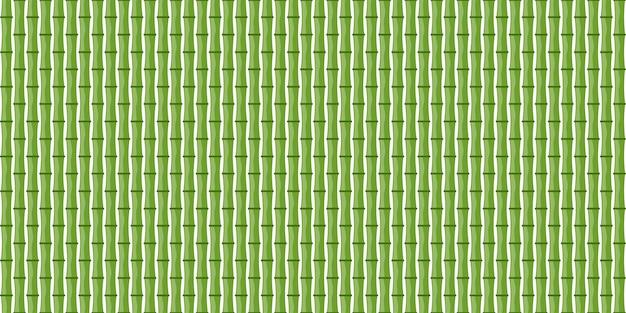 Sfondo di bambù senza soluzione di continuità. illustrazione.