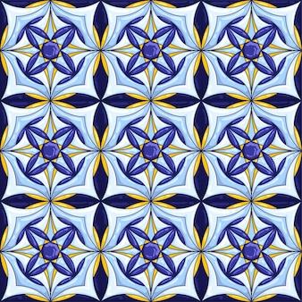 Seamless piastrelle di ceramica pattern
