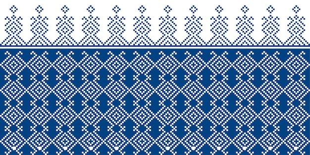 Seamless pattern di tessuto ripetendo il design con forme geometriche.