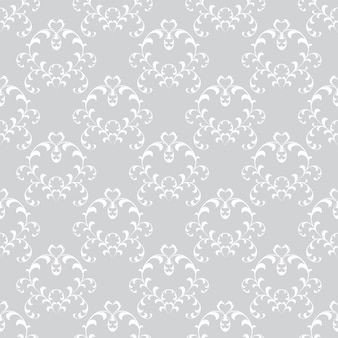 Sfondi floreali senza soluzione di continuità in stile barocco. può essere utilizzato per sfondi e riempimento di pagine web design.