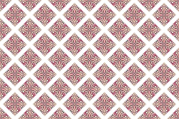 Motivo di sfondo colorato geometrico senza soluzione di continuità