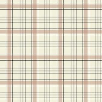 Seamless gingham motivo a scacchi cottagecore colori pastello disegno su sfondo bianco