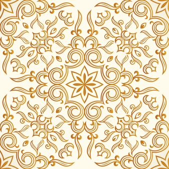 Seamless pattern oro design